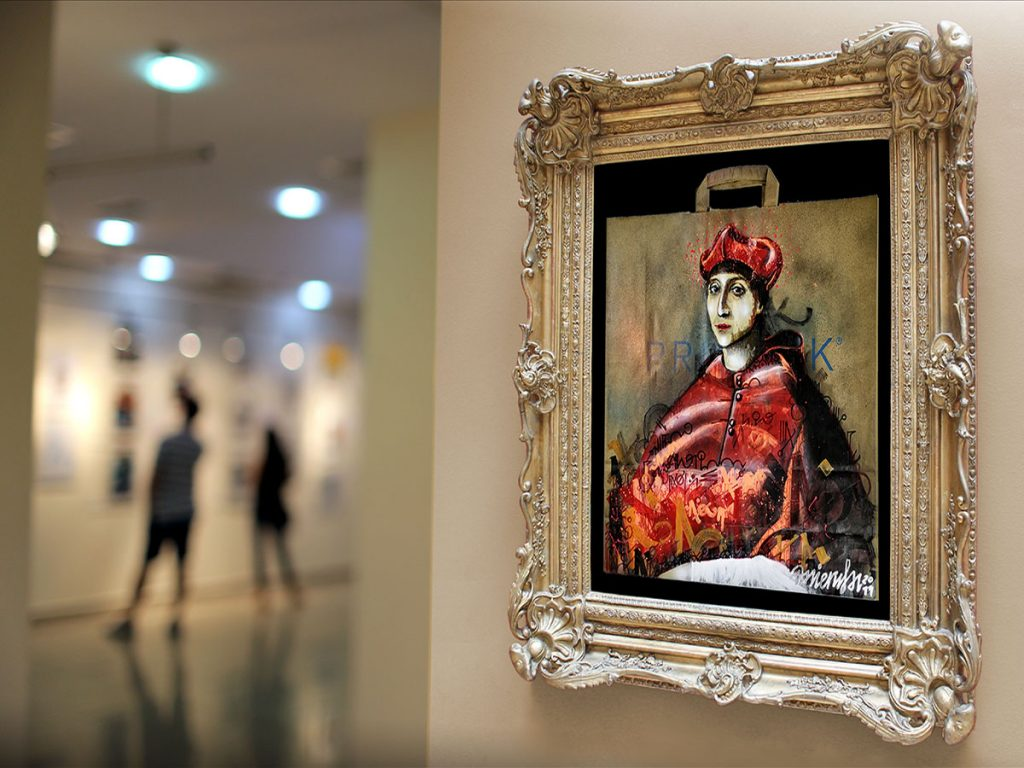 Certamen Paul Ricard, propuesta inovadora Sacro Graffiti de Danieru San