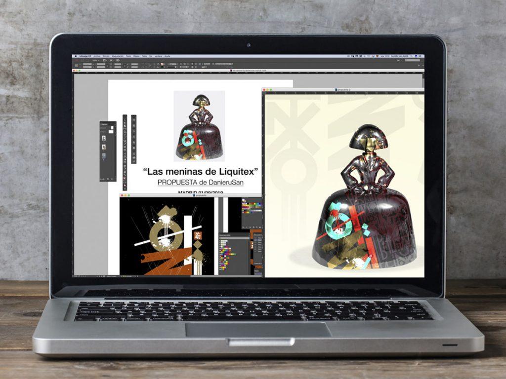 Presentación digital de Las Meninas by Danieru San
