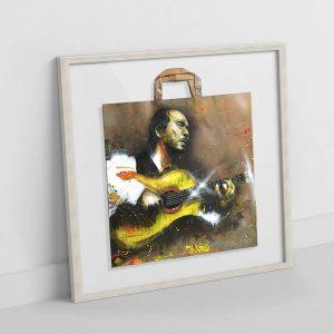 Paco y la guitarra flamenca - Danieru San